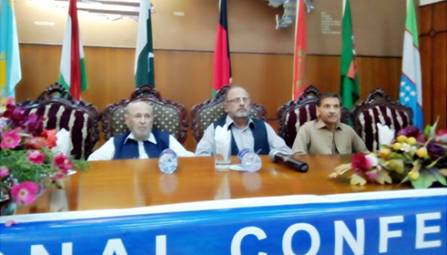 Director presides over session of National Conference on Durand Line and FATA