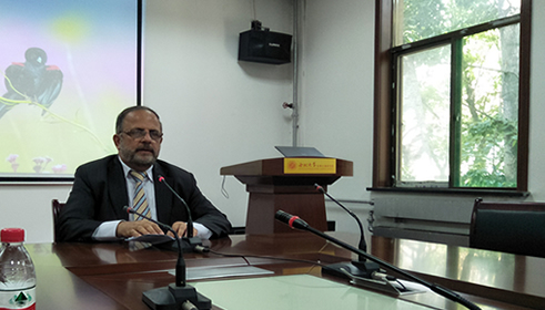 Dr. Fakhar addressed seminar at North West University Xi'an China