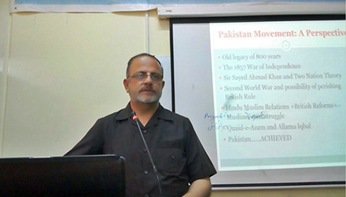 Dr. Fakhar attends International Training workshop as resource person