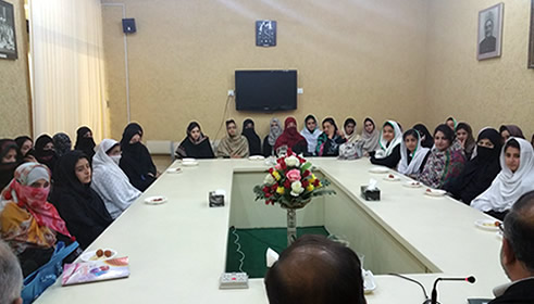 Frontier College for Women's students visit Pakistan Study Centre