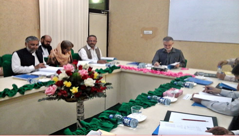 Pakistan Study Centre University of Peshawar holds meeting of the Board of Governors
