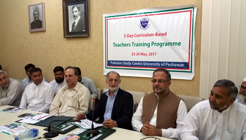 Pakistan Study Centre holds 3-day Curriculum-based teachers training workshop